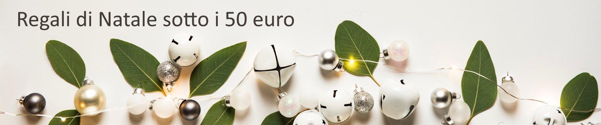 regali sotto i 50 euro natale