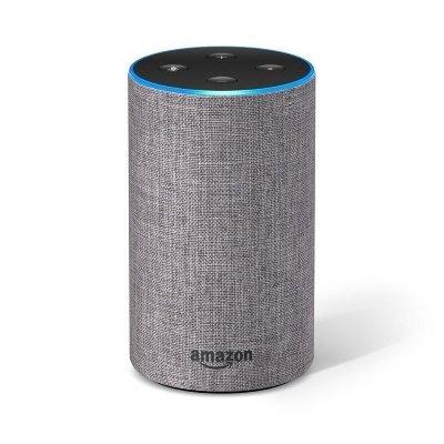 Altoparlante intelligente Amazon Echo (2ª generazione) grigio melangé IMG 2