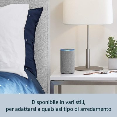 Altoparlante intelligente Amazon Echo (2ª generazione) grigio IMG 3