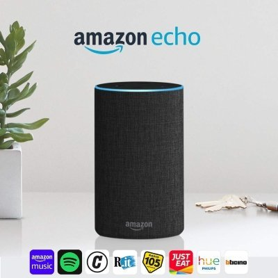 Altoparlante intelligente Amazon Echo (2ª generazione)
