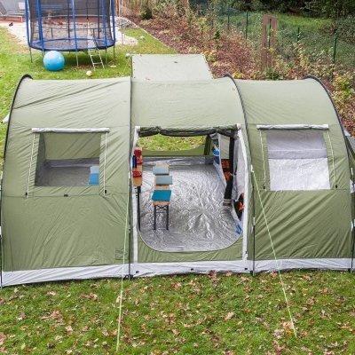 Tenda Campeggio Skandika Gotland 6 interno IMG 5