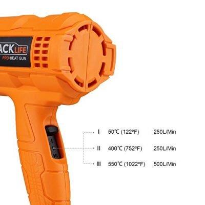 Calore Pistola termica Tacklife HGP70AC IMG 3