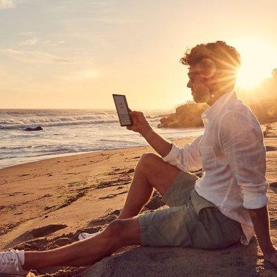 E-book reader Kindle Oasis lettura IMG 5