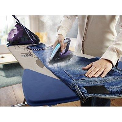 Ferro da stiro con caldaia Philips PerfectCare Elite GC965080 jeans stira IMG 5