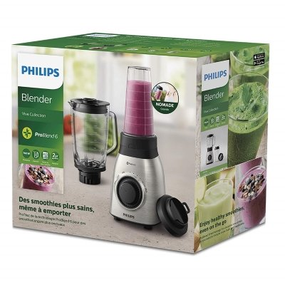 Frullatore Philips HR355600 Viva Collection con ProBlend 6 scatola verde IMG 6