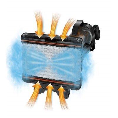 Scopa a vapore Rowenta RY7557WH Clean & Steam blu IMG 5
