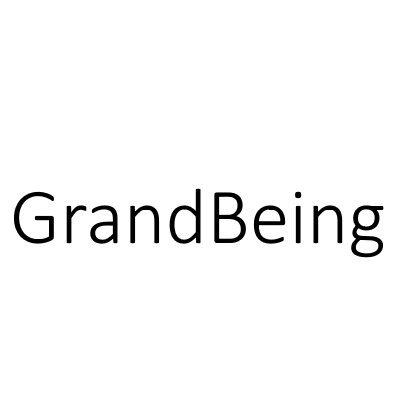 Grandbeing logo marchio