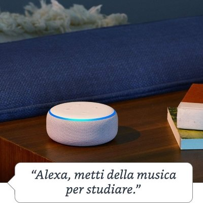 Assistente vocale Amazon Echo Dot music alexa IMG 5
