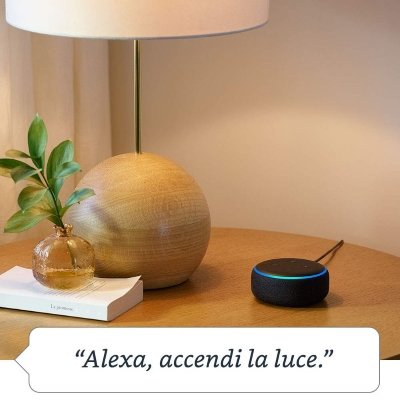 Assistente vocale Amazon Echo Dot turn on alexa IMG 3