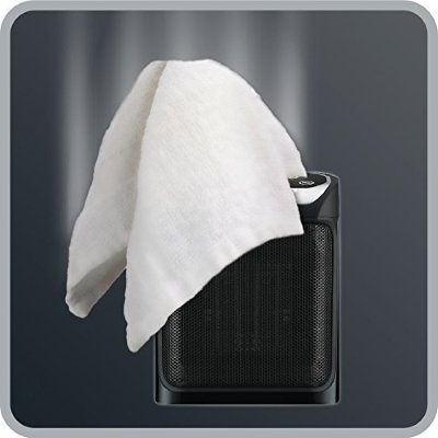Termoventilatore Ceramico Rowenta Mini Excel Eco Safe panno copre