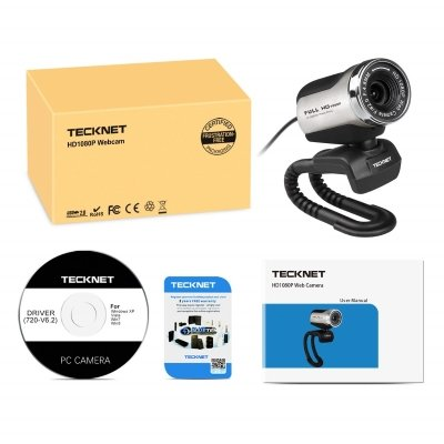 Webcam TeckNet C018 box scatola IMG 5