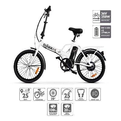 Bicicletta elettrica Nilox Doc X1 Plus