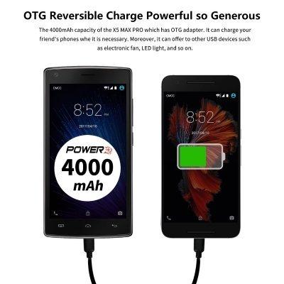 dooge android batteria full