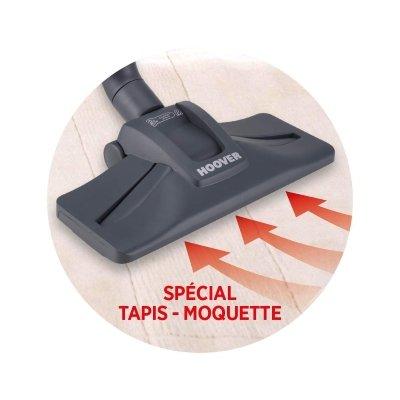 Aspirapolvere con sacco HOOVER TE70-TE75 moquette IMG 4