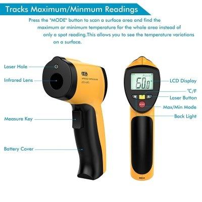 Termometro infrarossi drmeter IR20 funzionalità IMG 1
