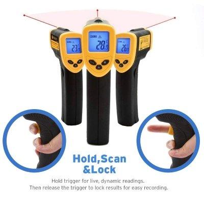 Termometro infrarossi etekciy scan