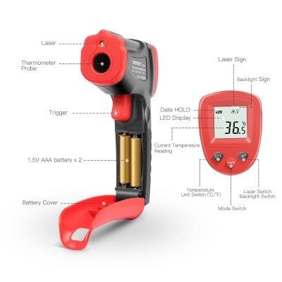 termometro infrarossi eventek funzioni