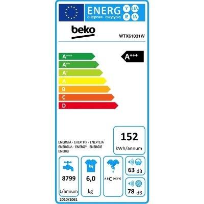Lavatrice-Beko WTX61031W classe energetica IMG 3