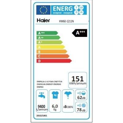 Lavatrice Haier HW60-1211N classe energetica IMG 4