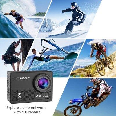 Action Cam Crosstour 4K 16 MP funzionalità IMG 2