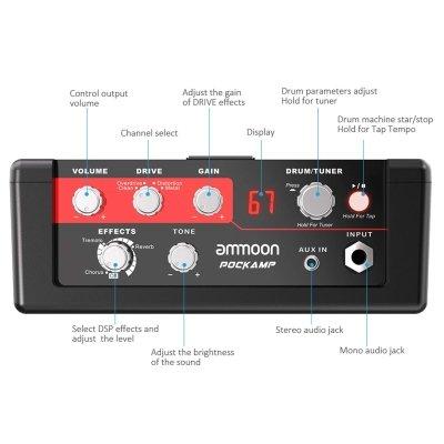 Amplificatore Ammoon caratteristiche IMG 2