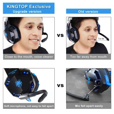 Cuffie gaming Kingstop strumenti