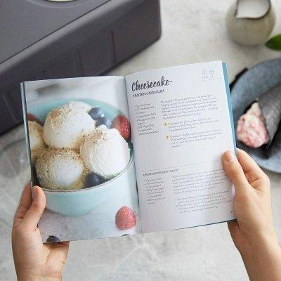 Gelatiera Emma con compressore autorefrigerante libro ricette IMG 7