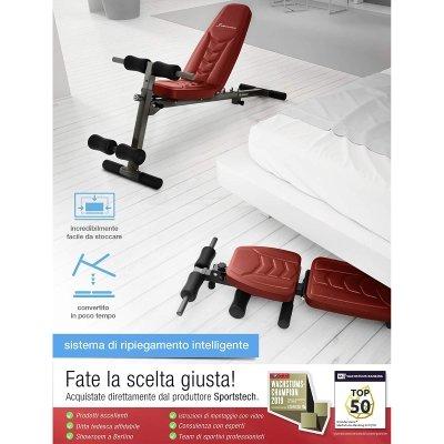 Panca sollevamento pesi Sportstechfunzionalità IMG 4