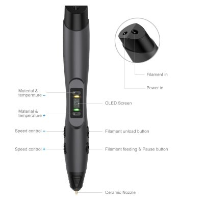 Penna 3D Tecboss caratteristiche IMG 2
