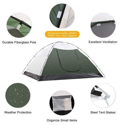 Tenda da campeggio Semoo caratteristiche IMG 2