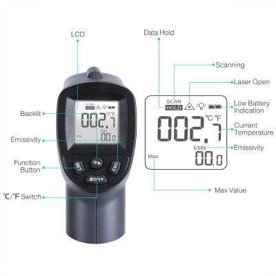 termometro a infrarossi surpeer caratteristiche IMG 2