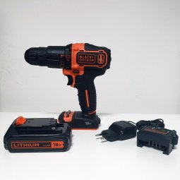 Trapano Black & Decker BDCHD18K-QW accessori