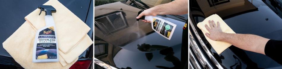 come lavare l'auto a secco