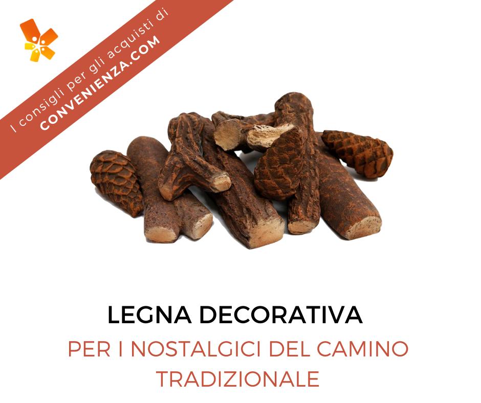 Set di legna decorativa in ceramica Prokira