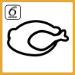 Simbolo sesto senso carne forno Whirlpool