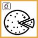 Simbolo sesto senso cottura pizza Whirlpool