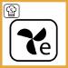 Simbolo funzione termoventilato eco forno Whirlpool