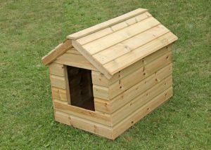 cuccia cane da esterno in legno