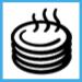 simbolo cibi caldi forno Candy